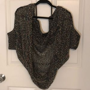 Lane Bryant size 26/28 multi-color Sweater Shrug